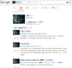 Google画像検索の検索結果